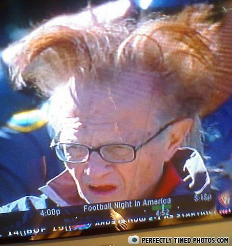 - Larry King -- Don King style