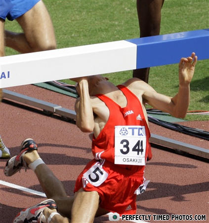 - NOT EVEN CHUCK NORRIS CAN WIN THIS RACE