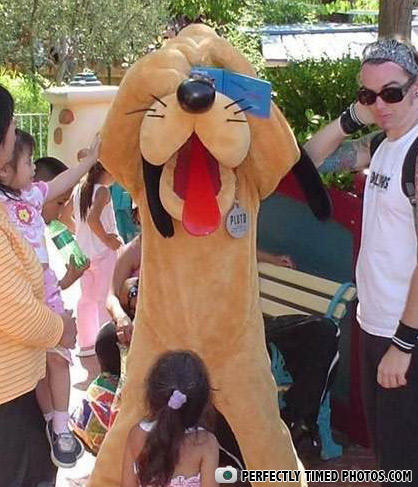 - Pluto, the good apprentice of Pedobear
