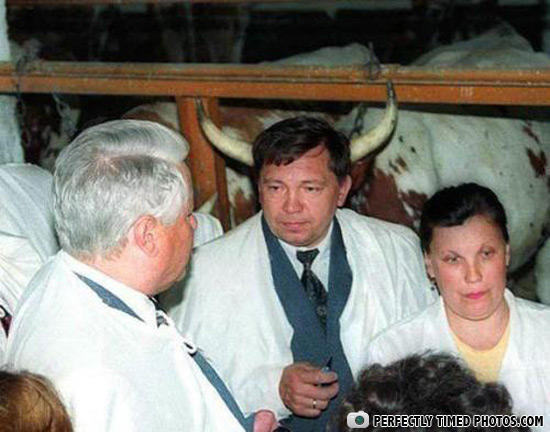 - Yeltsin is nothing but a Devil's servant.